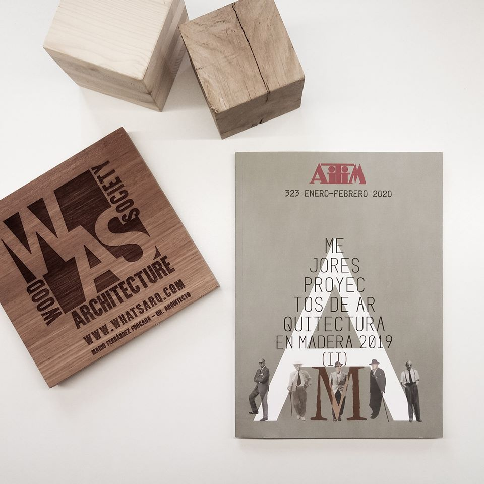 Whatsarq within the best wood projects 2019 AITIM